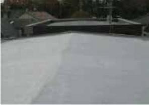 名古屋市での田島ルーフィング(株) アスファルト防水(屋根) ポリマリットキャップafter