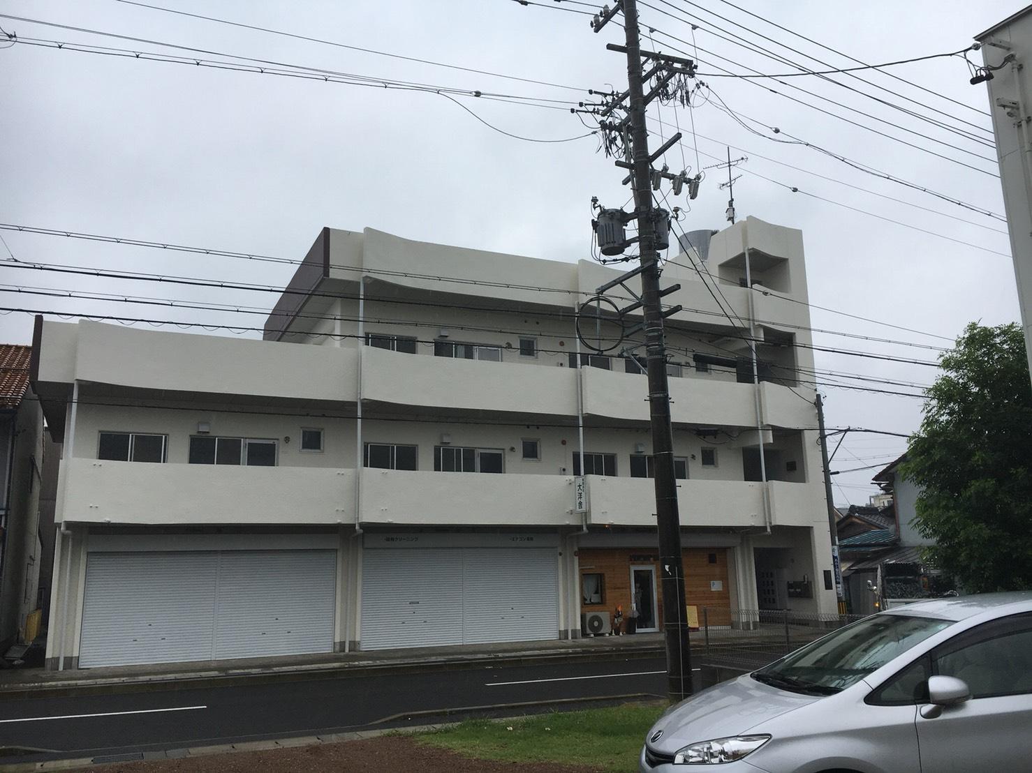 名古屋市での日本ペイント(株)材料名:パーフェクトトップ ラジカル制御塗装(外壁)after
